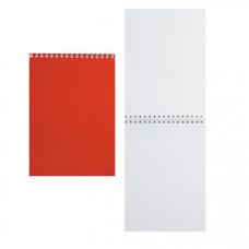 Блокнот А5 спир.40лПаттерн.Красный С4172-01 | опт и розница