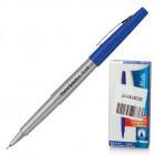 "Ручка капилярная PAPER MATE ""Flair UF, корпус серый, толщ. письма 0.5мм S0901331, синяя"