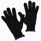 Перчатки х/б без ПВХ черные