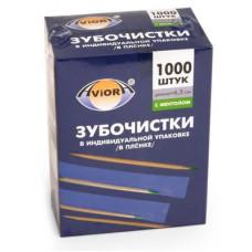Зубочистки(1000шт) Aviora c ментолом | опт и розница
