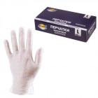 Перчатки виниловые(неопудр) L (100шт) Aviora однораз.