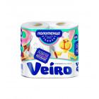 "Полотенца бумажные 2х слойные""Veiro"""