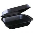 Ланч-бокс LBE-1 247х207х45(100шт) Черный