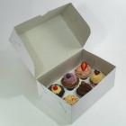 Коробка для капкейков 26х16х10 на 6 штук